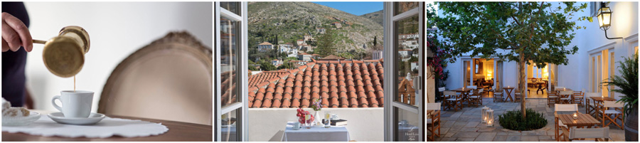 HYDRA island saronic argosaronic bed and breakfast accommodations boutique hotel rooms to let guesthouse suite maisonette beach greek islands greece rooms for rent