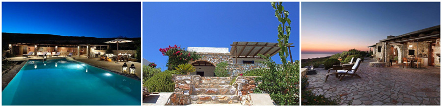 case ville in affitto a NAOUSSA PAROS bed and breakfast camere agriturismi hotel alberghi pensioni affittacamere